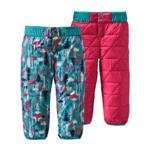 Baby Reversible Puff-Ball Pants | Color Pine Friends: Epic Blue | Size 2T