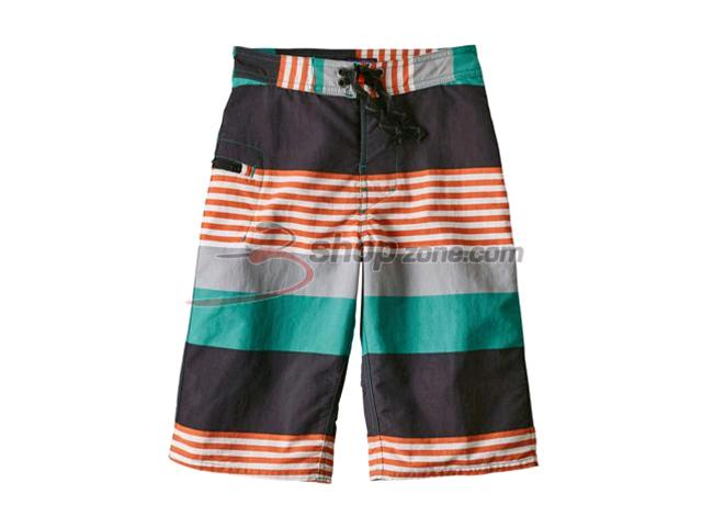 c43da89c9e Patagonia - Boys' Wavefarer Shorts | Color Fitz Stripe: True Teal ...