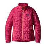 W'S Nano Puff Jkt | Color Craft Pink | Size small