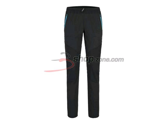 Evoque Light 2 Pants Woman, Nero/Acqua (9023)