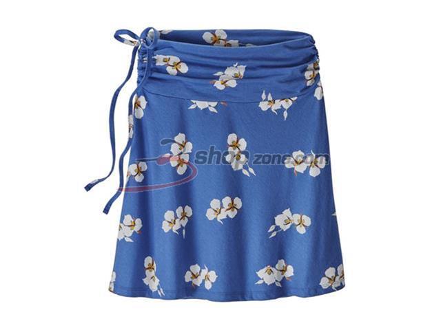 557aa8c514 Patagonia - W's Lithia Skirt, Mariposa Lily: Imperial Blue (EU xs ...