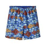 Baby Baggies Shorts, Dogfish: Imperial Blue, Size 2T