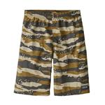 Boys' Baggies Longs, Rock Camo: Coriander, Size Medium