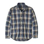 M'S L/S Pima Cotton Shirt - Buttes Small: Stone Blue