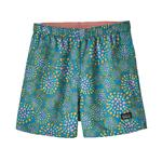 Baby Baggies Shorts, Tencel Bloom: Joya Blue | Size 2T