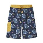 Boys' Baggies Boardshorts, Gators After Dark: Stone Blue | Size Medium