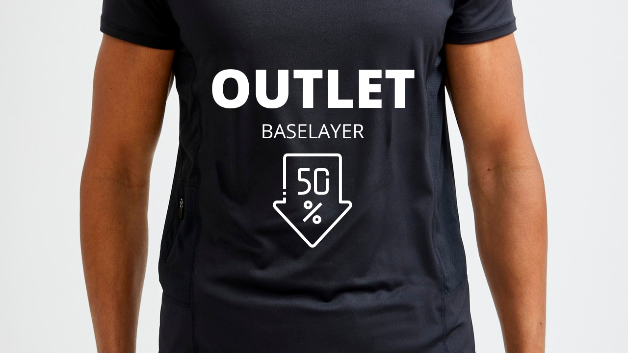 OUTLET BASELAYER | 50% OFF